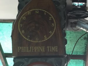 Philippine Time - Look no hands