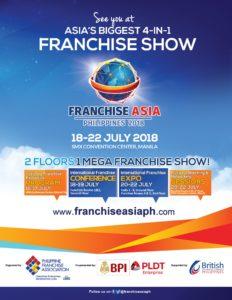 Franchise Asia Philippines 2018