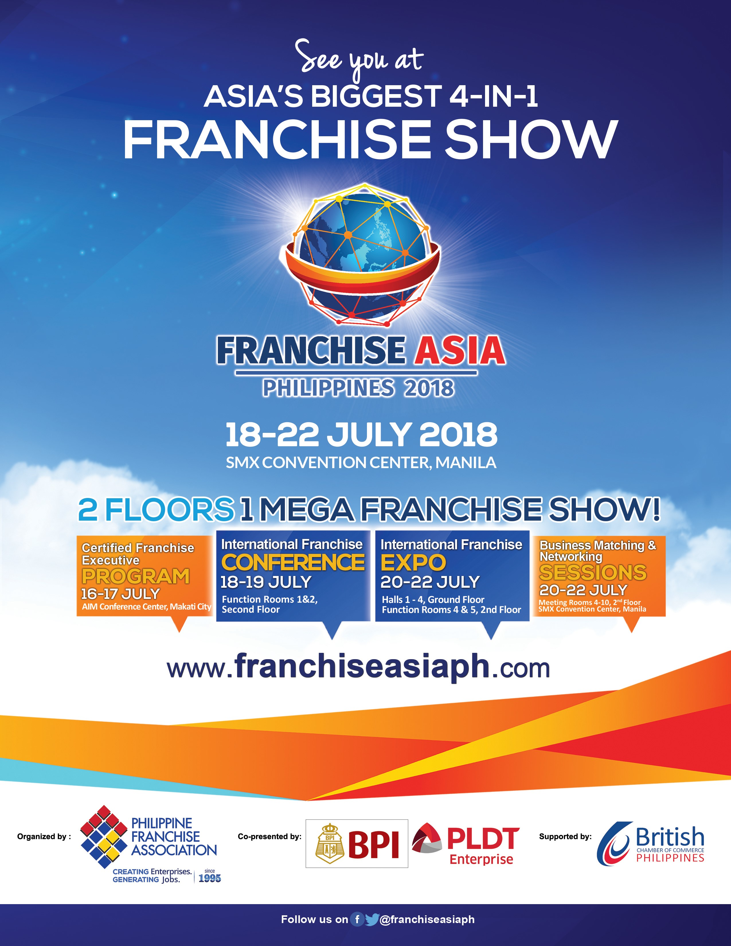 Franchise Asia Philippines 2018
